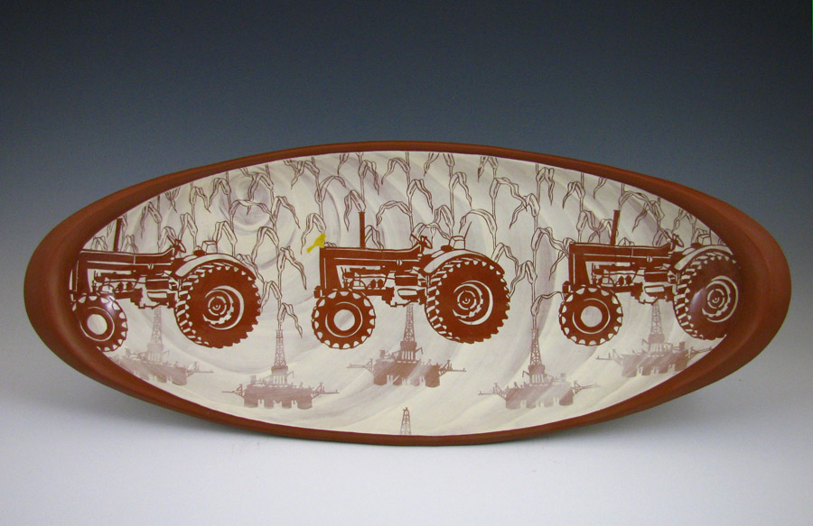 Kip O'Krongly - tractor plate