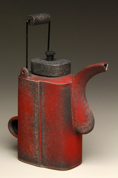 Todd Burns, untitle red teapot